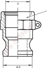 快速接头公头;SME焊接接头;不锈钢公头