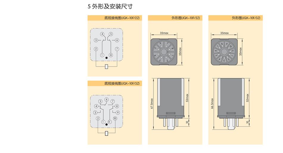 jqx-10f电磁继电器